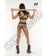NEBBIA 845 Sortky Camo Pants / camouflage