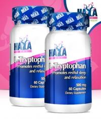 PROMO STACK HAYA LABS L-Tryptophan 500mg 60 Caps