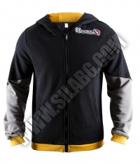 HAYABUSA FIGHTWEAR Wingback Hoodie Black / Grey / Yellow