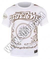 HAYABUSA FIGHTWEAR Premium Muay Thai T - Shirt / White
