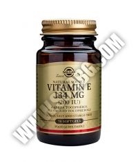 SOLGAR Vitamin E  200 IU / 50 softgels