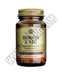SOLGAR Boron 3mg / 100 vcaps.