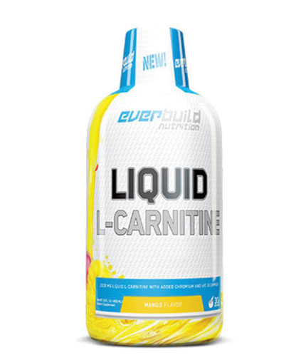 EVERBUILD Liquid L-Carnitine + Chromium /  1500mg 0.450