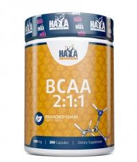 HAYA LABS Sports BCAA 2:1:1 500mg / 200 Caps