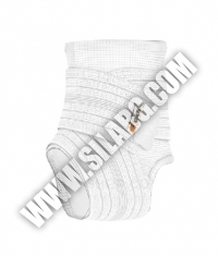 SHOCK DOCTOR Ankle Sleeve / Compression Wrap Support / WHITE