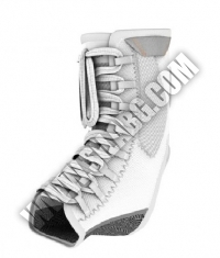 SHOCK DOCTOR Ultra Gel Lace Ankle Support / WHITE