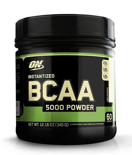 OPTIMUM NUTRITION Instantized BCAA 5000 Powder 336g.