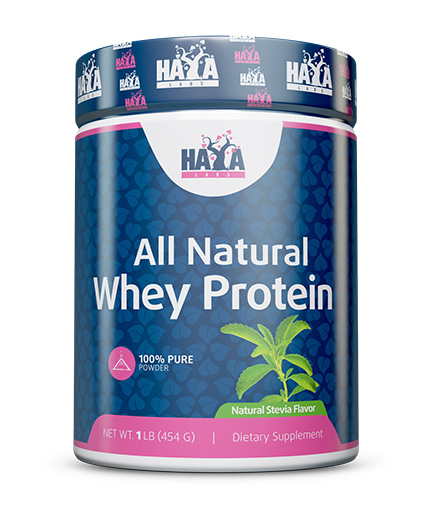 HAYA LABS 100% Pure All Natural Whey Protein / Stevia 0.454