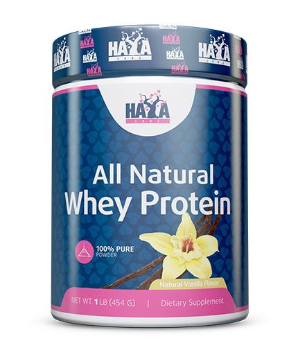 HAYA LABS 100% Pure All Natural Whey Protein / Vanilla
