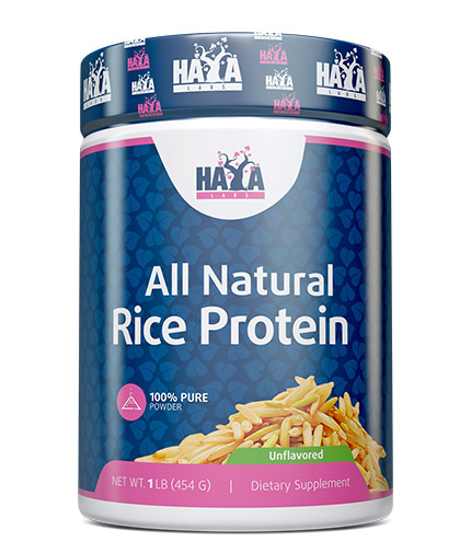 HAYA LABS 100% All Natural Rice Protein / Unflavored