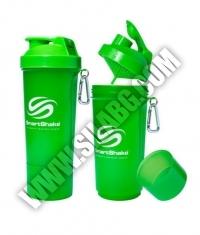 SMART SHAKE Slim Neon Green 500ml.