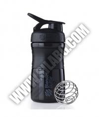 BLENDERBOTTLE Sports Mixer Bottle /Black-Black/ 20oz