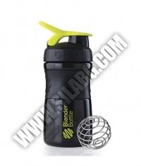 BLENDERBOTTLE Sports Mixer Bottle /Black-Green/ 20oz