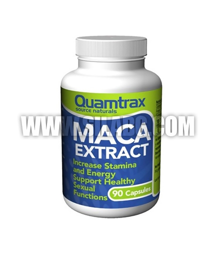 QUAMTRAX NUTRITION Maca Extract 500 mg. / 90 caps