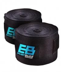 EVERBUILD Cotton Hand Wraps / Black