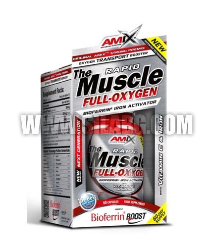 AMIX Muscle Full-Oxygen / 60 Caps.