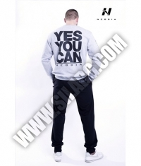 NEBBIA 992 Men's Sweatshirt / grey