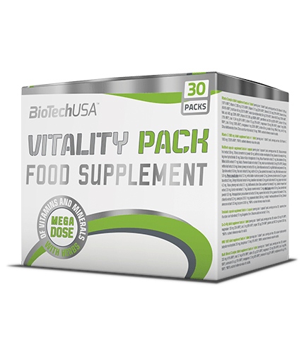 BIOTECH USA Vitality Pack / 30 Pack.