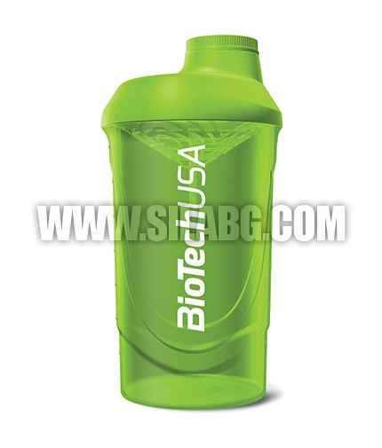 BIOTECH USA Shaker Wave /Grass Green/ 600ml.