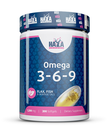 HAYA LABS Omega 3-6-9 / 200 Softgels