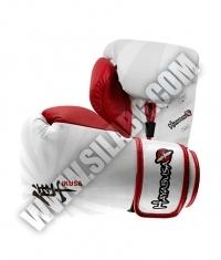 HAYABUSA FIGHTWEAR Ikusa 14oz Gloves / White