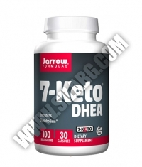 Jarrow Formulas 7-Keto DHEA 100mg. / 30 Caps.