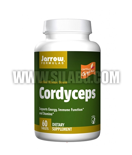 Jarrow Formulas Cordyceps / 60 Tabs.