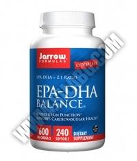 Jarrow Formulas EPA-DHA Balance® 600mg. / 240 Soft.