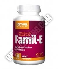 Jarrow Formulas Famil-E / 60 Soft.