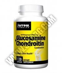 Jarrow Formulas Glucosamine + Chondroitin / 120 Caps.