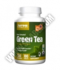 Jarrow Formulas Green Tea Organic 500mg. / 100 Tabs.