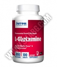 Jarrow Formulas L-Glutamine Easy-Solv® 1000mg. / 100 Tabs.