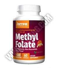 Jarrow Formulas Methyl Folate 400mg. / 60 Caps.