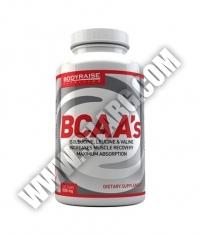 BODYRAISE NUTRITION BCAA 1020mg / 100 Tabs.