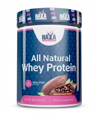 HAYA LABS 100% All Natural Whey Protein  / Natural Cacao