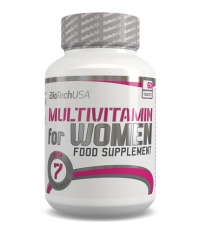 BIOTECH USA Multivitamin for Women / 60tabs.
