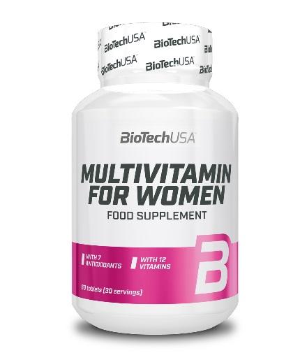 BIOTECH USA Multivitamin for Women / 60tabs.