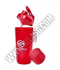 SMART SHAKE Slim Neon Red 500ml.