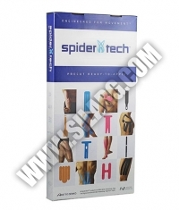 SPIDERTECH PRE-CUT SHOULDER CLINIC PACK [10 PCS] RIGHT