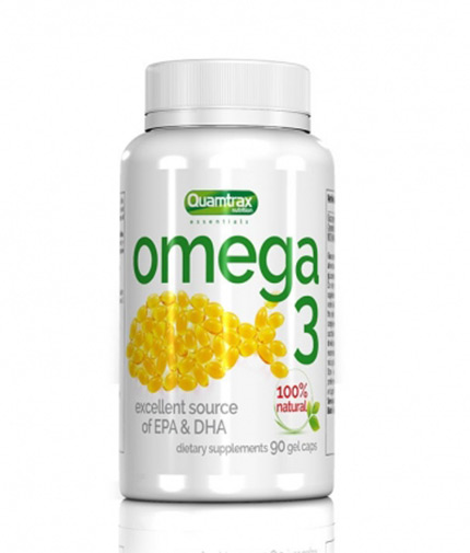 QUAMTRAX NUTRITION Omega-3 / 90 softgels