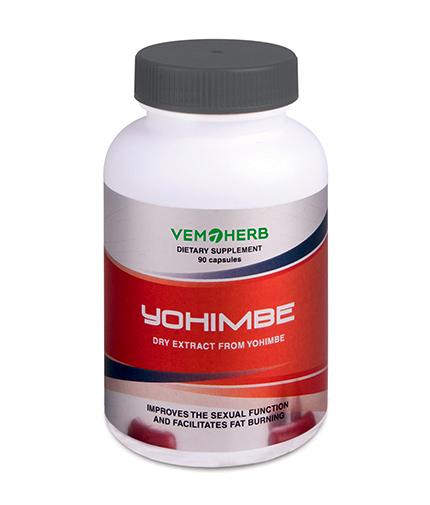 VEMOHERB Yohimbe / 90 Caps.