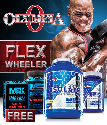 PROMO STACK MR. Olympia - Flex Wheeler's