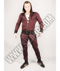 NEBBIA 109 JACKET ZIP AW / Bordeaux