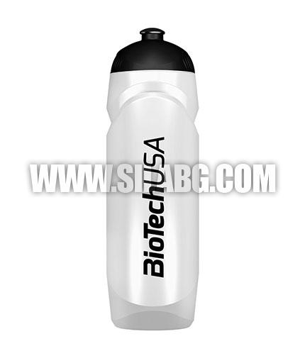 BIOTECH USA Waterbottle Transparent 750ml. / White