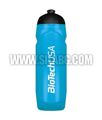 BIOTECH USA Waterbottle Transparent 750ml. / Blue