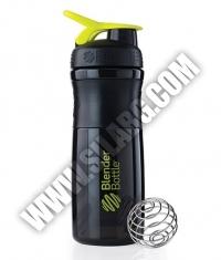 BLENDERBOTTLE Sports Mixer Bottle /Black-Green/ 28oz