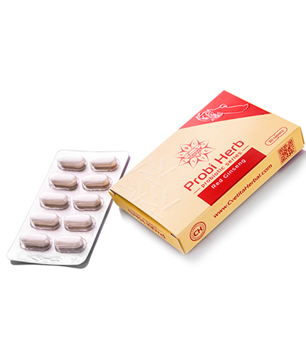 CVETITA HERBAL Probi Herb Red Ginseng / 30 Tabs.