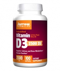 Jarrow Formulas Vitamin D3 2500IU / 100 Soft.