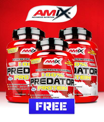 PROMO STACK Amix Predator Protein / 2+1 FREE!