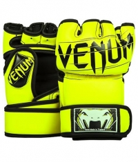 VENUM Undisputed 2.0 MMA Gloves / Neo Yellow
